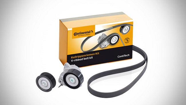 Image of ContiTech belt kit with product box