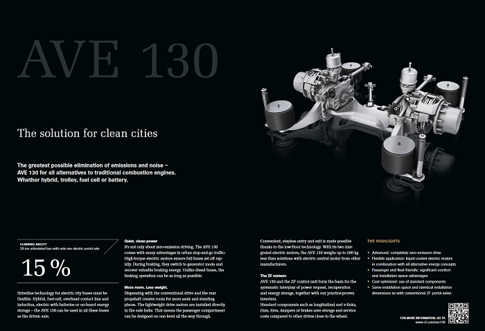 Information about ZF AVE 130 Axle
