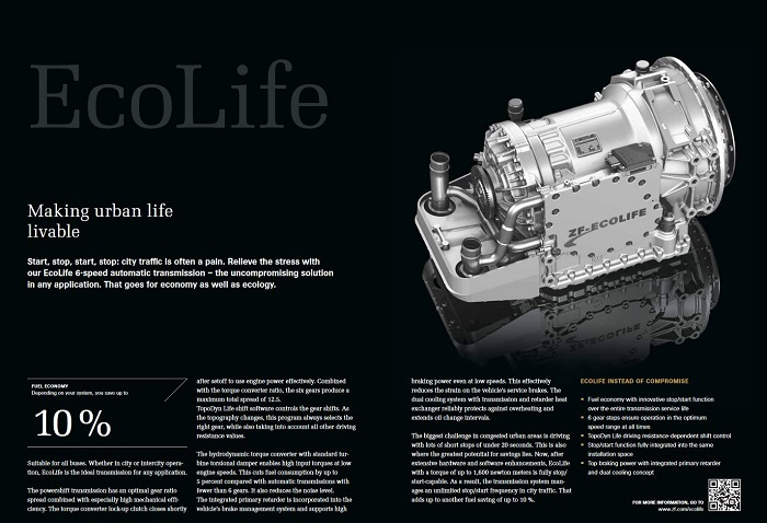 Information about ZF EcoLife Gearbox