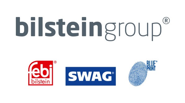 Image is showing of Bilstein Group and its brands Febi, SWAG and BluePrint