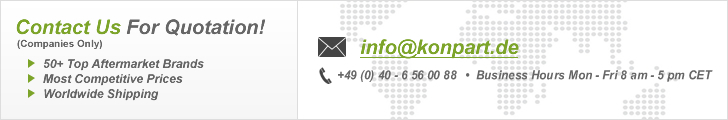KonPart Import-Export GmbH - Contact Us For Quotation Banner
