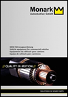 MONARK Injection Parts, Starters & Alternators Trucks Catalog 2014