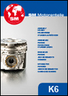 SM Motorenteile Pistons, Piston Rings, Cylinders, Liners Catalogue