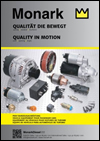 MONARK Injection Parts, Starters & Alternators Cars Catalog 2014