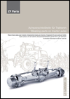 ZF Axle Wearing Parts Tractors Catalog